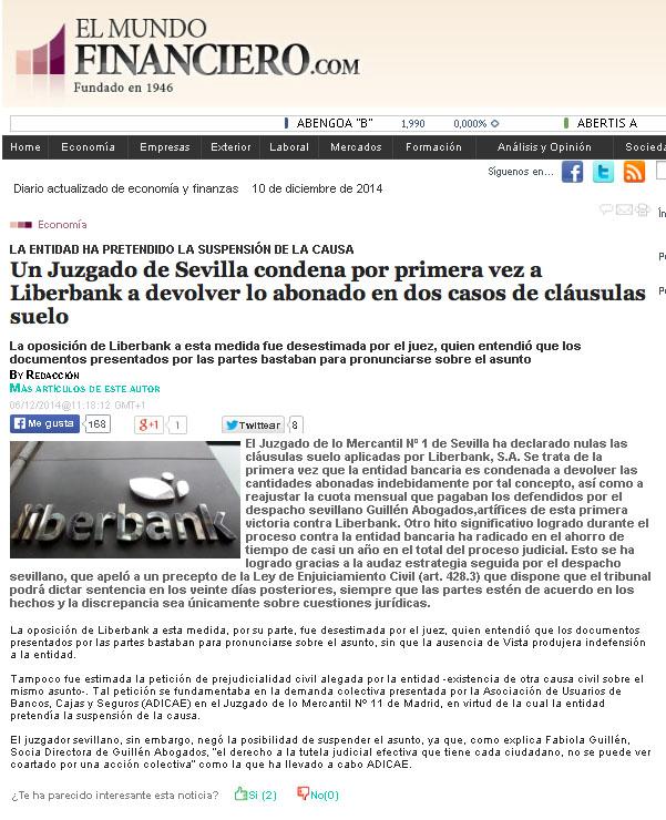 NOTICIA LIBERBANK